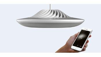 """Luke Roberts bringt die erste Smarte Lampe mit """"Paint your Light""""-Technologie auf den Markt"""