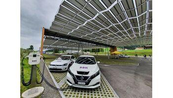 SAK und Luftseilbahn Jakobsbad-Kronberg nehmen Solarkraftwerk in Betrieb