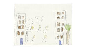 Traumatische Bilder – von Kinderhand gezeichnet