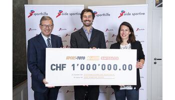 Wichtige Unterstützung für die Schweizer Sporthilfe