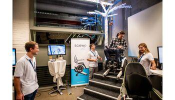 Rolf Sonderegger, CEO von Kistler, an der dritten Startup Night mit 1'200 Besuchern