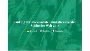 Studie deckt auf - Bern ist die stressfreiste Stadt der Schweiz