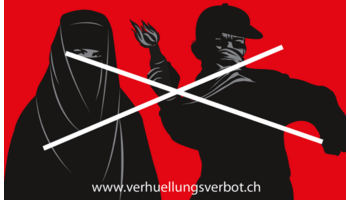 Die SVP setzt sich für ein Verhüllungsverbot ein
