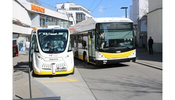 Meilenstein für den ÖV: Selbstfahrender Bus erstmals in Leitsystem integriert
