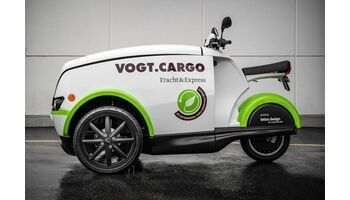 Vielseitig, ökologisch, stylish: das neue E-Cargo-Mobil
