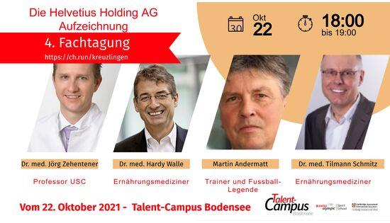 4. Fachtagung der Helvetius Holding AG am 22. Oktober 2021