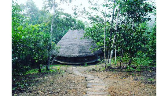 CHAKANA unterstützt den Wiederaufbau eines Naturheilzentrums im Amazonas
