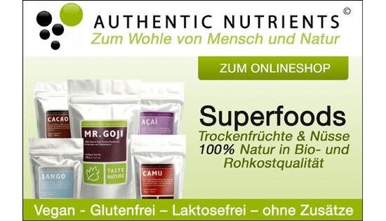 Zum Pressefach von Authentic Nutrients