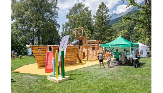 «Leinen los!» – für den grössten Themenspielplatz der Schweiz am Walensee