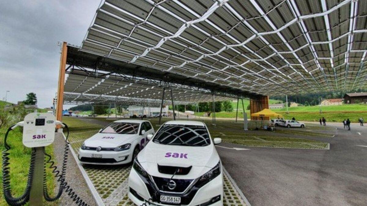 SAK und Luftseilbahn Jakobsbad-Kronberg nehmen Solarkraftwerk in Betrieb | St. Gallisch-Appenzellische Kraftwerke AG