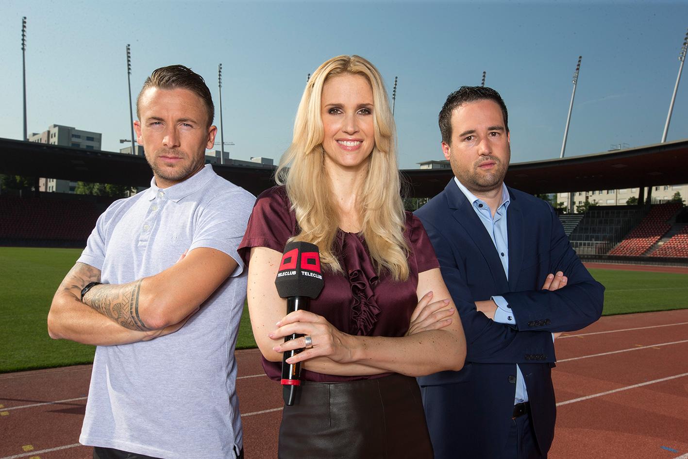 Teleclub Und Blick Suchen Einen Fussball Reporter Fur Die