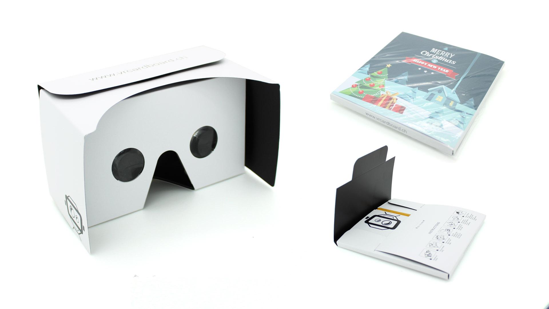 Preisalternative zu herk mmlichen vr brillen virtual - Interaktive weihnachtskarte ...